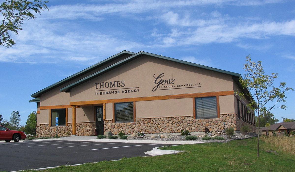 Scott Build Class A Office Gentz Thomas Financial Building