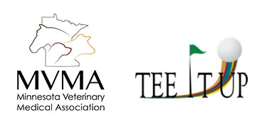 Minnesota Veterinary Medical Association Logo Golf Classic Tee It Up Event