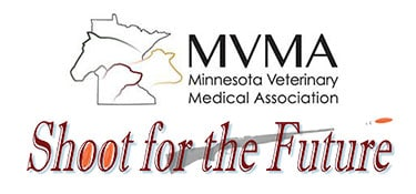 Minnesota Veterinary Medical Association Logo Shoot For The Future Event