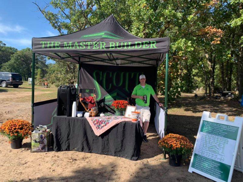 Scott Build Gives Back Sponsor Tent